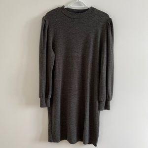 🔵Grey Sweater Dress